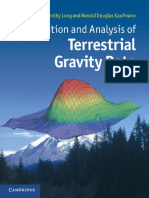 Acquisition and Analysis of Terrestrial Gravity Data
