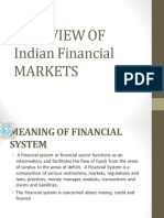 1. Overview of Indian Financial MARKETS