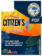 2016 Anda Citizen's Charter Edition