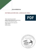 08GINF1 GUIA Estimulación Del Lenguaje Oral