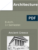 Greek Architecture Final