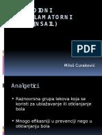 Nesteroidni Antiinflamatorni Lekovi (NSAIL)