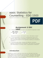 EDG 1503 Correlation