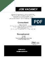 Dialogue Job Interview