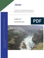 Tehnička i Ekonomska Analiza Za Hidroelektrane Na Rijeci Morači