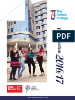 The British College Prospectus 2016-2017