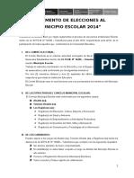 Reglamento Del Municipio Escolar 2014