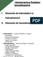 11. Biomecanica Fluidelor Hemodinamica MG 2014