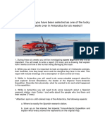 Antarctica Research Project