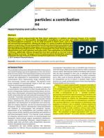 Chitosan Nanoparticles a Contribution to Nanomediciine