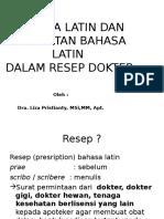 Bahasa Latin Ppt