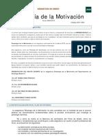 Guia de La Asignatura de Motivacion. Parte I