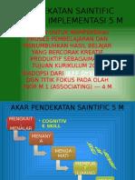 Pendekatan Saintific Melalui Implementasi 5 m