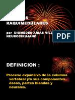 TUMORES RAQUIMEDULARES9