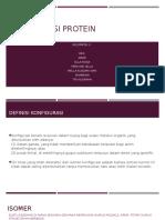 Konfigurasi Protein