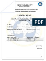 Cs1037 Dbms Lab Manual (1)