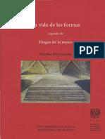 La Vida de Las Formas Henri Focillon