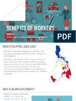 Benefits of Workers - Philippines