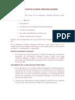 Determinacion de La Deuda Tributaria Duanera