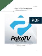 Manual Del Usuario de PalcoTV