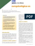 pruebas neuropsicologicas pediatria