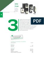 Tarifas 2015 Automatizacion y Control. Capitulo 3 Guia de Seleccion Arrancadores Altistart Variadores Altivar