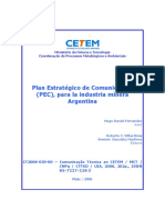 Plan Comunicacional Industrias Mineras.argentinas