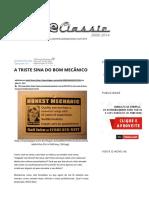 A Triste Sina Do Bom Mecânico - Autoentusiastas Classic (2008-2014)
