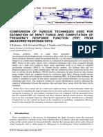 Comparison of Force Estimation