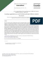 Leraning Organization