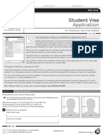 New Zealand Student Visa Application Form - InZ1012