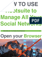 How to Use Hootsuite to Manage All Your Social Networks