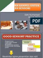 Penyiapan Sampel Untuk Pengujian Sensori
