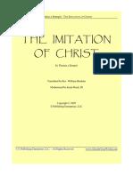 The Imitation of Christ Modern Translation