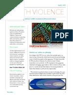 violence newsletter