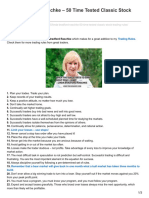Tischendorf.com-Linda Bradford Raschke 50 Time Tested Classic Stock Trading Rules