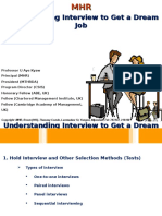 Understanding Interview to Get a Dream Job