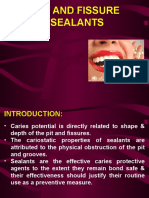 Pit and Fissure Sealants Ppt