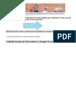 Preventivo Informazione Installazione Contatore-TORINO