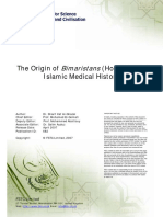 The Origin of Bimaristans in Islamic Medical History