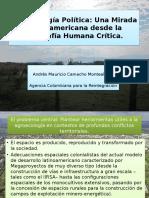 Presentación Agroecología política y Geocrítica Andrés Camacho