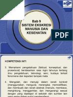 IPA Terpadu VIII - Bab 9 Sistem Ekskresi Manusia Dan Kesehatan