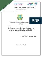20 innovaciones Agroecológicas