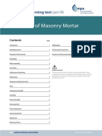 LT06 Masonry Mortar
