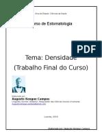 Trabalho Final Do Curso de Enfermagem-DENSIDADE - Augusto Kengue Campos