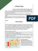Resumen Biopsicología