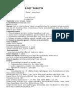 Proiect Didactic Clasa a IX A