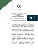 Undang-Undang Nomor 17 Tahun 2013 tentang Organisasi Kemasyarakatan