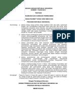 Undang-Undang Nomor 1 Tahun 2011 tentang Perumahan dan Kawasan Permukiman