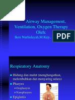 Kuliah Airway and Breathing Manajemen